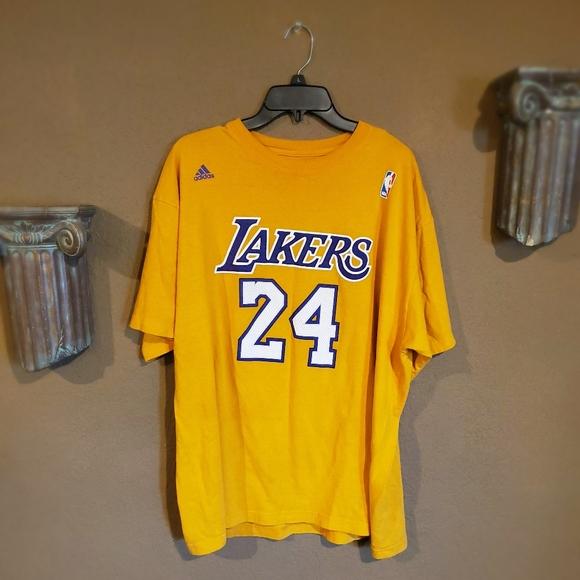 Vintage Adidas LA Lakers Kobe Bryant Double Sided